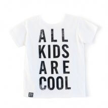 Bandit Kids T-Shirt All Kids Are Cool Weiß