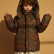 POPUPSHOP Bubble jacket forest