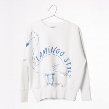 BOBO CHOSES Sweatshirt Flamingo