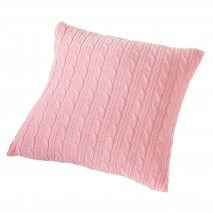 NORDIC COAST COMPANY Strick-Kissen Pink