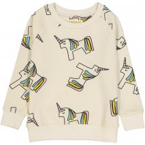 HUGO LOVES TIKI sweatshirt unicorn