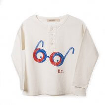 BOBO CHOSES Button Shirt Impossible Glasses