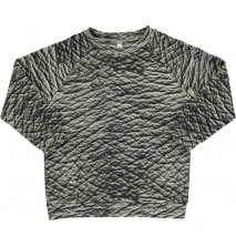 POPUPSHOP basic sweatshirt elephant skin
