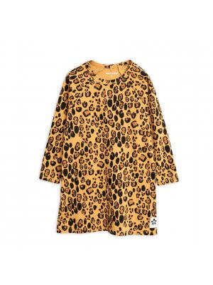 MIni Rodini leopard dress girl