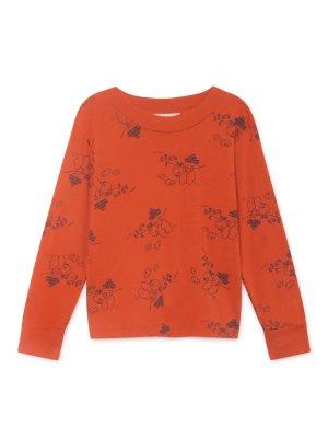 Bobo Choses Langarm- Shirt Tangerine