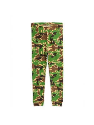 MINI RODINI Camo Leggings