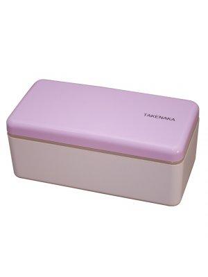 TAKENAKA Bento Box/Snack Box schmal. Lavendel
