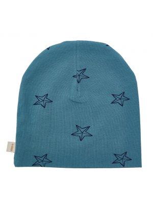 IGLO+INDI Mütze Blue Stars, blau