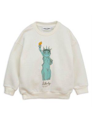 Neu: MINI RODINI Sweatshirt Liberty/Freiheitsstatue