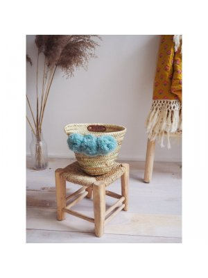 LOUISE MISHA Home Basket Tonga, Almond