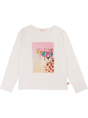 Billiblush t-shirt cheetah leopard