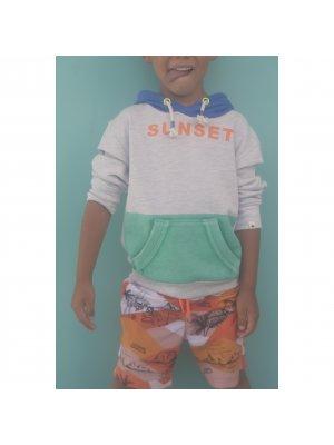 Billybandit Kapuzensweater Sunset