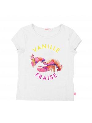 Billieblush Kinder-T-shirt Vanille. Französische Kindermode