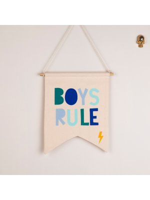 FIGG toller Wimpel BOYS RULE