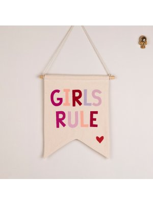 FIGG toller Wimpel GIRLS RULE