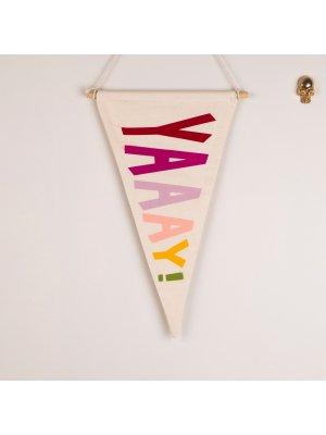 FIGG toller Wimpel für das Kinderzimmer YAY, farbig