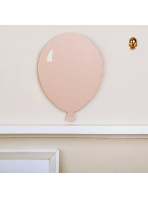 FIGG Jade Ballon - Wanddeko aus Holz.Pink.