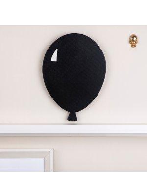 FIGG Jade Ballon - Wanddeko aus Holz.Schwarz.