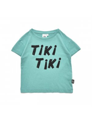 LITTLE MAN HAPPY box t-shirt Tiki Tiki