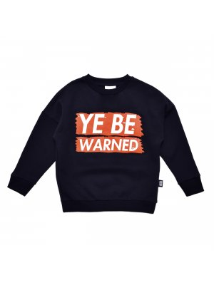 LITTLE MAN HAPPY Loose Sweater, ye be warned