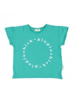 piupiuchick_green_logo_t-shirt