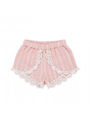 LOUISE MISHA Shorts Kai mit hellen Streifen. Französische Kindermode