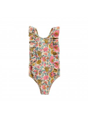 LOUISE MISHA Bathing Suit Bermude, Multi Flowers
