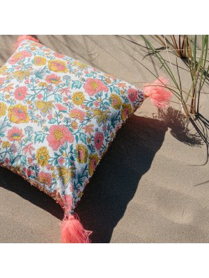 LOUISE MISHA Home, Pillow Marcata, Multi Flowers
