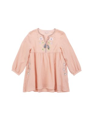 Louise Misha, Kids Dress Cristalia, blush