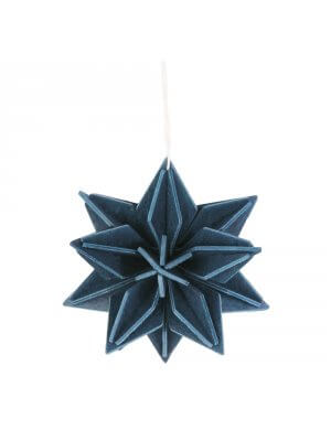 Lovi_wood_star_blue_ornament_christmas