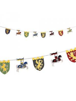 MERI MERI Girlande Brave Knights/ Tapfere Ritter
