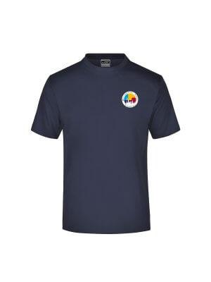 MSF T-shirt Junior Navy Blau