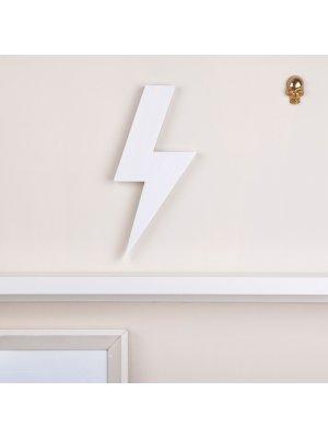 FIGG Spruce Blitz-tolle Holzdeko für Regal und Wand. Weiß. Einzeln.