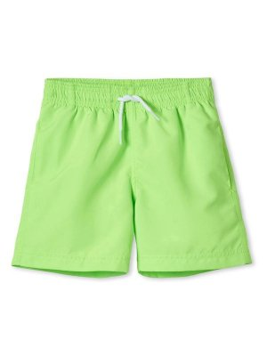 STELLA COVE kids board shorts neon green