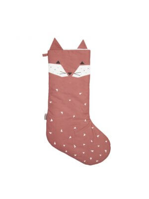 FABELAB Christmas Stockings Fox