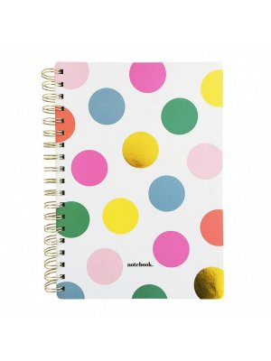 "STUDIO STATIONERY Notebook ""Happy dots"""
