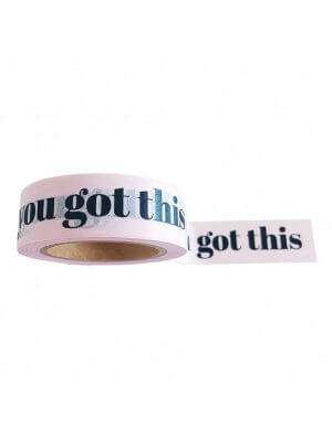 STUDIO STATIONERY Klebeband/washi tape YOU GOT THIS