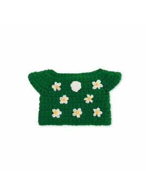 JUST DUTCH handmade green flower dress for Miffy