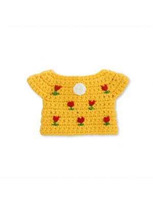JUST DUTCH handmade yellow tulip dress for Miffy