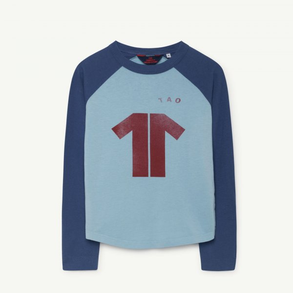 New: THE ANiMALS OBSERVATORY Cricket t-shirt blue maroon