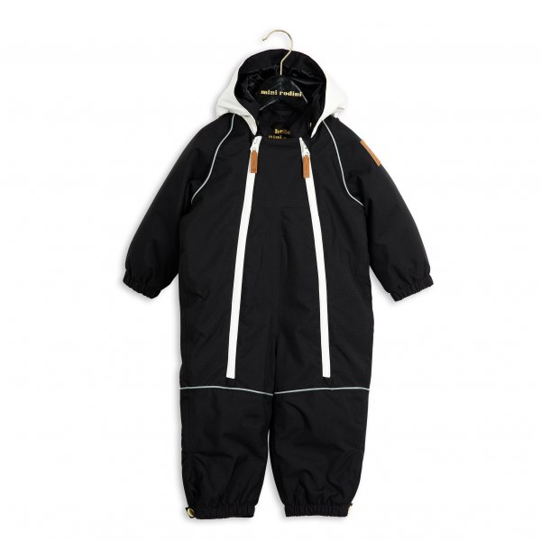 Mini Rodini Panda Schneeanzug Baby Kind Overall