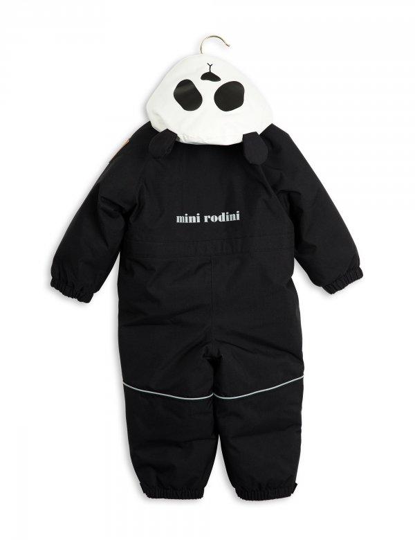 Mini Rodini Panda Schneeanzug Baby Kapuze