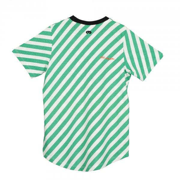 grün/weiß gestreiftes T-Shirt Beau Loves