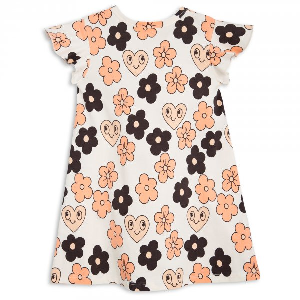 MINI RODINI wing dress flowers