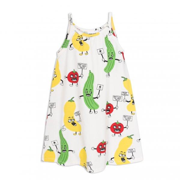 Neu: MINI RODINI Kleid/Gemüse Trägerkleid