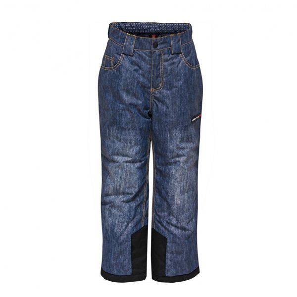 Kid ski and snwboard  pants denim look