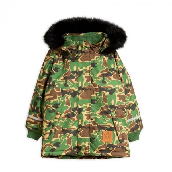 Mini Rodini K2 Winter parka Camo Kinder