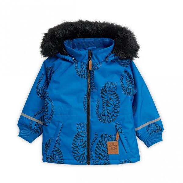 Mini Rodini K2 Mini Rodini K2 Outdoorparka Tiger blau