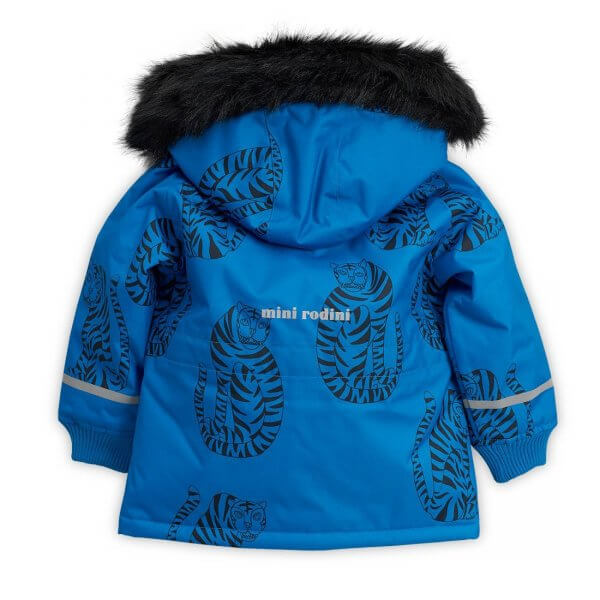 Mini Rodini K2 Outdoorjacke Tiger blau