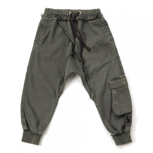 Neu: NUNUNU Military raw pants
